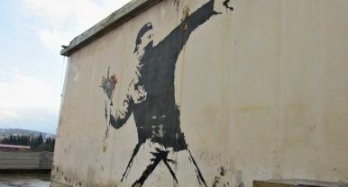 graffito di Bunksy, Betlemme