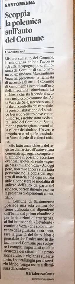 lacittadisalerno cronaca scoppia-la-polemica-sull-auto-del-comune_foto