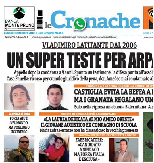 Cronache-3-9-2018-lista proscrizione_Voza_pag1